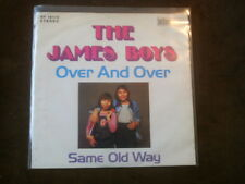 7 inch Single OVER AND OVER von THE JAMES BOYS (1973) °10c