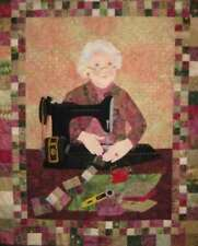 The Quilter Applique Wall Hanging Quilt Pattern by Seams Like Home