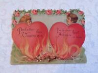 Vintage Valentine, Hearts on Fire, Mechanical, Germany