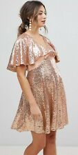 ASOS sequinned maternity cocktail dress - size 10