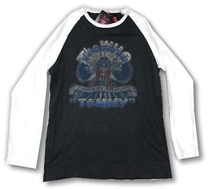 The Who Tommy Grey Raglan Long Sleeve Shirt New Official Band Merch Soft