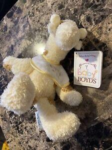 Boyds Bears Plush Baby Boyds ~ Nighty Giraffe Baby Rattle