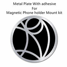 Replacement Metal Plate Disc for Magnetic Car Dash Phone GPS PDA Mount Holder UK