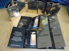 LADIES PERFUME SAMPLES VIALS X 12 DOLCE & GABBANA NEW RELEASE THE ONE FREEPOST