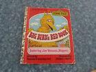 LITTLE GOLDEN BOOK (PAPERBACK) - SESAME STREET , BIG BIRD'S RED BOOK