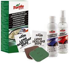 Conjunto restaurador faro Abelauto Turtle Wax pulimento