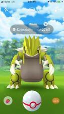 Shiny Groudon Pokemon Go (PTC Account) DIFFERENTIATED SERVICE - READ DESCRIPTION