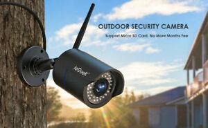 iegeek 1080P HD Wireless WIFI IP CCTV Camera Smart Security Night Vision Outdoor