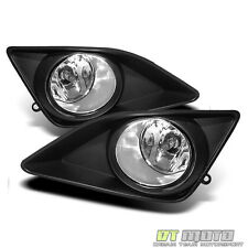 2009-2010 Toyota Corolla Bumper Fog Lights Lamps w/Switch&Bulbs Left+Right 09-10