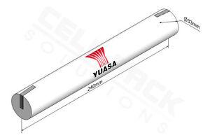 Yuasa 4DH4-0T4, 4.8V 4AH Ni-Cd Rechargeable Emergency Lighting Battery Pack