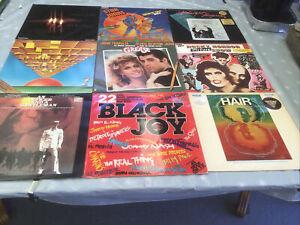 Bulk Lot Of Original Motion Picture Soundtracks And Musicals LPs.