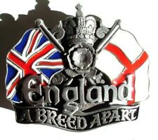 England a Breed A Part Union Jack Flag Belt Buckle Tan DD-122 Brand New
