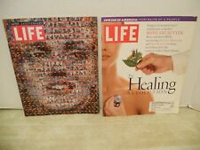 2 Life Magazines Sept & Oct 1996.  The Healing Revolution & 60th Anniversary Ed.