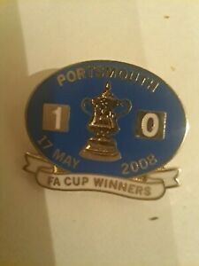 Football Pin Badge Clearance PORTSMOUTH FA CUP WINNERS.