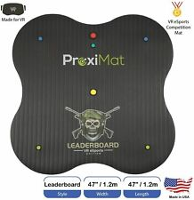 ProxiMat Leaderboard VrEsports Edition Black VR Virtual Reality Competition Mat