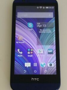 HTC Desire 510 - OPCV1 -4GB- Navy Blue (Virgin mobile) CLEAN IMEI **FREE SHIP**