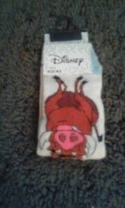Ladies Disney socks x1 Lion King Timon and Pumbaa