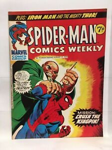 Spider-Man Comics Weekly No. 79 Marvel Comics Group UK Magazine 1974