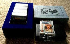 1991 MAXX RACING Trading Cards Factory Set Earnhardt Elliott Marlin