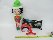 Betty Boop Noel Christmas Plush Toy + Pillow and Tin