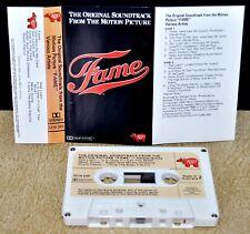 FAME      - Motion Picture Soundtrack -                         Casssette Tape