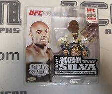 Anderson Silva Signed UFC 117 Round 5 Action Figure w Belt PSA/DNA COA Fan Expo