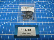 400V 1uF  Electrolytic Radial Capacitors - lot of 20