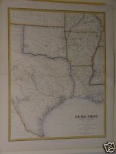 United States, South Central Section, Texas etc,1860's