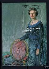 Turks & Caicos 40th Ann. of Coronation MS 1200 MNH