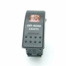 12V 20A ON/OFF Push Rocker Toggle Switch LED Light Car Boat Truck MarineARB Bar