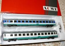 "SH ACME 55148  Nachtzugwagen-Set ""Inter City Notte"" 2.Klasse 2-tlg  FS"