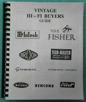 Hi-Fi Buyers Guide McIntosh Fisher Dynaco Scott