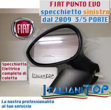 SPECCHIETTO SPECCHIO FIAT PUNTO EVO dal 2009 lato SINISTRO SX 3/5 porte