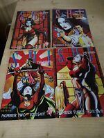 SHI the Series 1997 #2, #3, #4, ,#5 Sexy Comics, Fantasy