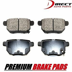 BRAKE PADS Complete Set Rear Disc Brake Pad - Super Pad Semi-Metallic P