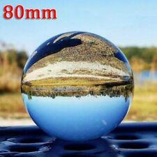 Fotokugel fotografie Glaskugel Klar Kristallkugel Clear Glass Crystal Ball 80mm