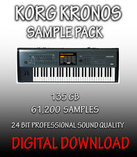 KORG KRONOS CAMPIONI in formato WAV, 61,200 CAMPIONI, 135 GB ** download digitale **