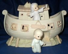 """*RETIRED PRECIOUS MOMENTS  TWO BY TWO """"NOAH'S ARK NIGHTLIGHT SET"""" $225.00 VALUE"""