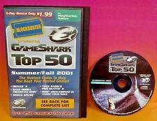 GameShark Game Shark Blockbuster Top 50 2001 Game Enhancer  PS2 PlayStation 2
