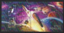 NEW ZEALAND 2019 SPACE PIONEERS LENTICULAR MINIATURE SHEET FINE USED