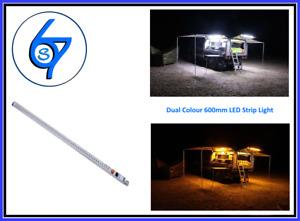 Led Rigid Strip Bar Dimmer Amber/White Magnetic High Quality 3 meter cable 12V