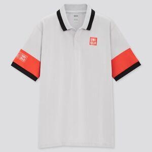 Uniqlo 2021  Kei Nishikori Melbourne Games model NK Dry EX Polo Shirt