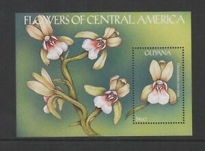 Guyana - 2000, Flowers of Central America sheet - MNH - SG MS6008a