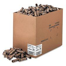 1000 Tubular Preformed Kraft COIN WRAPPERS Nickels Sorter Roll Sorter Nickles