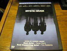 Mystic River DVD Sean Penn Tim Robbins Kevin Bacon Laurence Fishburne