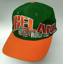 Vintage 1994 World Cup soccer IRELAND Apex One snapback hat cap