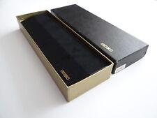Seiko Quartz Box, caja, relojes de pulsera, estuche, Wrist Watch, Case, nos, Rare!