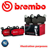 BREMBO GENUINE ORIGINAL BRAKE PADS REAR AXLE P44013