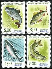France 2227-2230, MNH. Fish, 1990