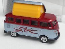 1/87 Brekina # 1944-2 VW T1 b Camper offen kupferrot/blausilber Sondermodell ...